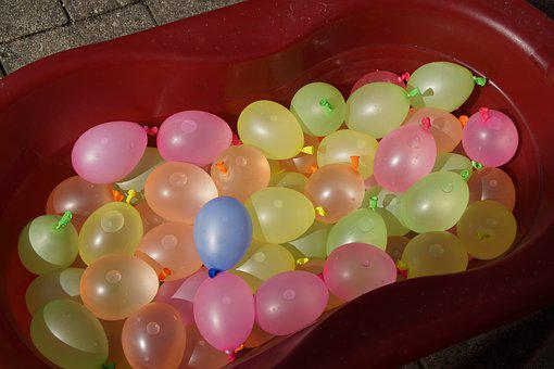 Depth Charges, Water Balloons, Water, Balloons, Fun
