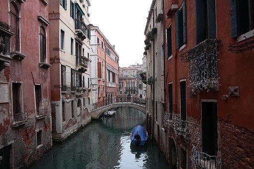 Venice, Venedig, Italy, Canal, Italian, Venezia, Europe