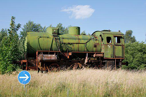 Loco, Train, Old Train, Railway, Locomotive
