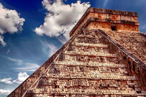 Mexico, Pyramid, Ancient, Archaeology, Mexican, Mayan