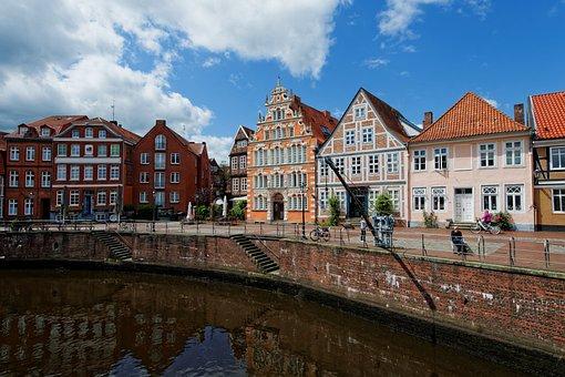 Stade, Hanseatic City, Port, Mood, Maritime
