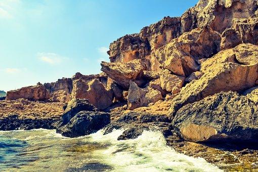 Cliff, Rocky Coast, Erosion, Geology, Nature, Waves
