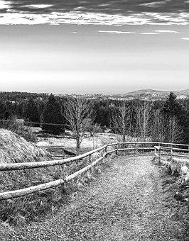 Resin, Away, Road, Boulder, Mountain, Landscape, Nature