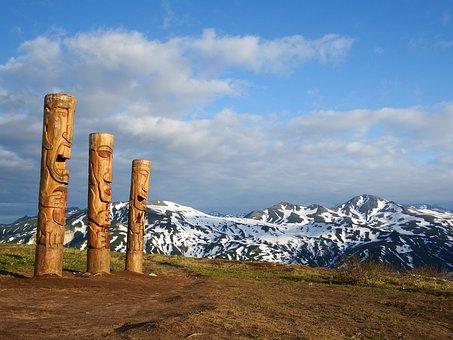Wooden Idol, Sculpture, Statue, Figure, Idol, Nature