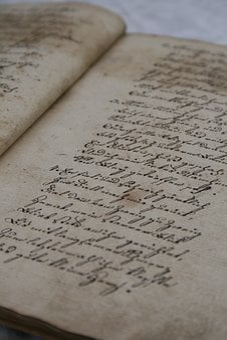 Old Book, Handwriting, Paper, Pen Writing, Nostalgia