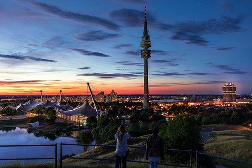 Munich, Olympic Stadium, Olympic Park, Stadium, Olympia