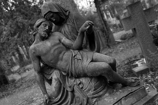 Cemetery, Art, Artwork, Stone, Historically