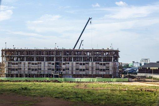 Under Construction, Building, Construction, Structure