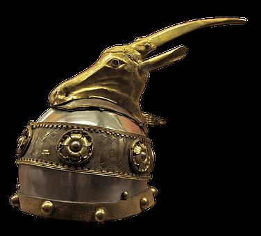 Helm, Old, History, Artifact, Metal, Battle, War