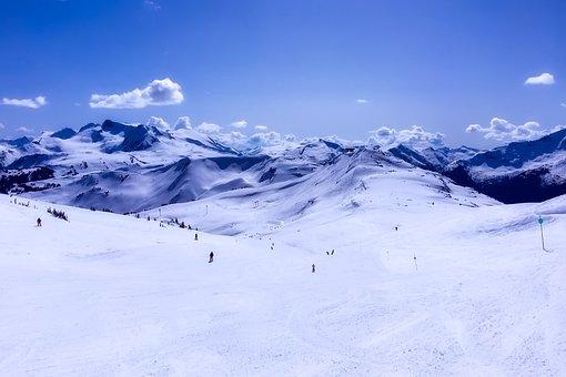 Canada, Ski Resort, Skiing, Leisure, Recreation