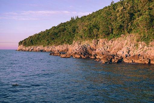 Coast, Booked, Sea, Mediterranean, Croatia, Rock, Ocean