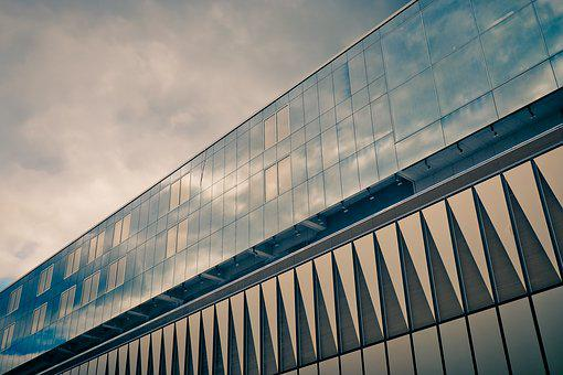 Architecture, Facade, Office Building, Modern, Window