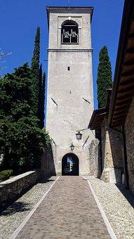 San Felice Del Benaco, Italy, Church, Tower