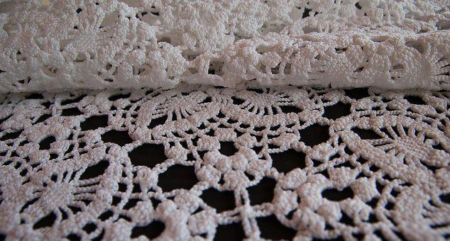 Lace, Hook, Wire, Embroidery