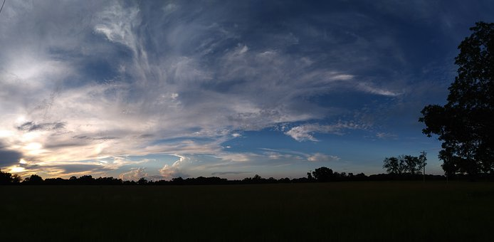 Sky, Afternoon, Panoramic, Cloudscape, Outdoor