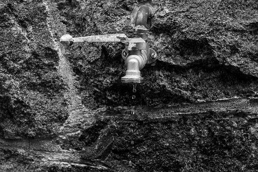 Water, Water Faucet, Drops, Tap, Metal