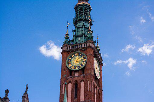Gdańsk, The Town Hall, Architecture, The Cathedral