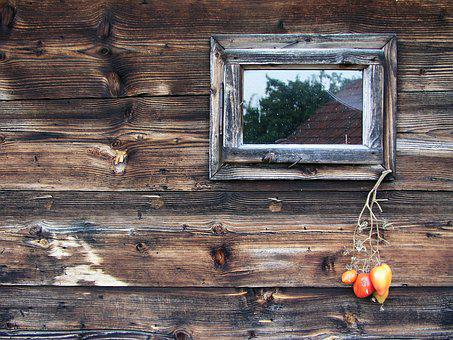 Wooden Wall, Cottage, Architecture, Vintage, Texture