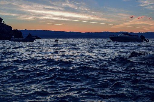 Sea, Mediterranean, Croatia, Beach, Wave, Holiday