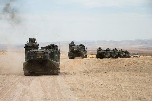 Amphibian Assault Battalion, Convoy, Armored Vehicle