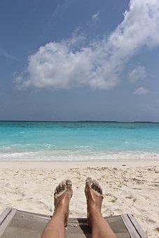 Feet, Sand, Beach, Foot, Barefoot, Sand Beach, Sea