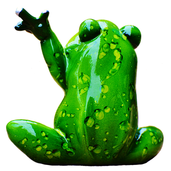 Frog, Figure, Wave, Funny, Cute, Animal, Fun, Sweet