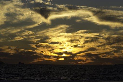 Sky, Hdr, Sunset, Nature, Summer, Outdoor, Light