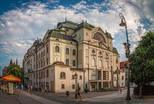 Košice Slovakia, Kosice, Slovakia, Centre, Theatre