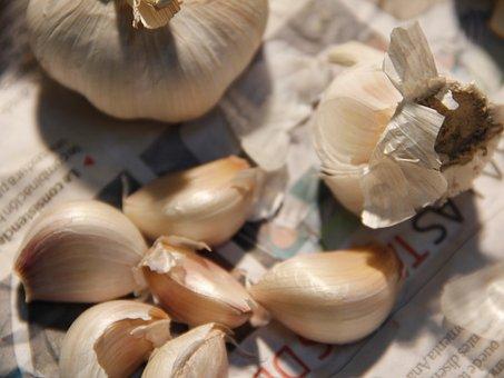 Garlic, Food, Vegetables, Dish, Still Life, Main Dish