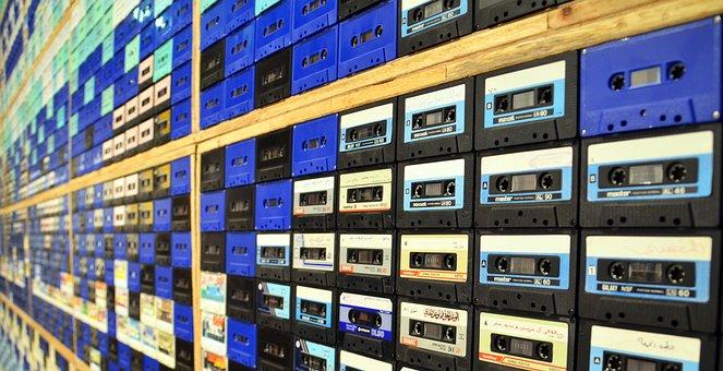 Music, Music Cassettes, Cassettes, Tinge