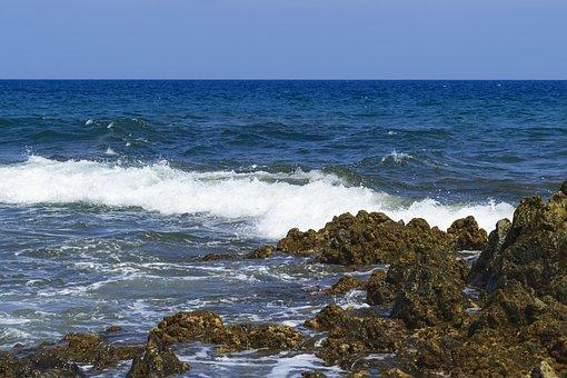 Atlantic Ocean, Sea, Water, Summer, By The Sea, Wave