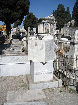 Nice, South Of France, Cemetery, Côte D ' Azur, France