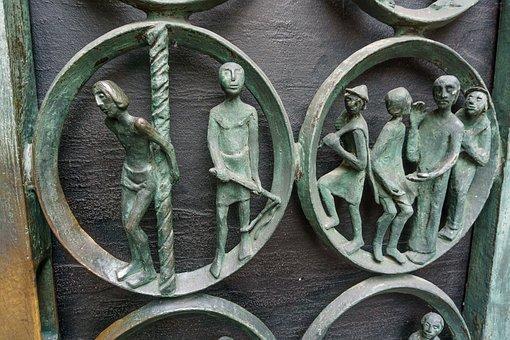 Church, Church Door, Rees, Assumption, Classical, Door