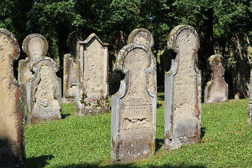 Grave Stones, Jewish Cemetery, Resting Place