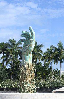 Memorial, Usa, America, Monument, Miami, Holocaust, War