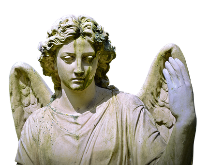 Angel, Figure, Mourning, Hope, Sculpture, Statue, Face