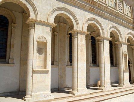 Church, Arches, Greek, Orthodox