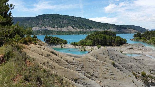 Lake, Pyrenees, Turquoise, Water