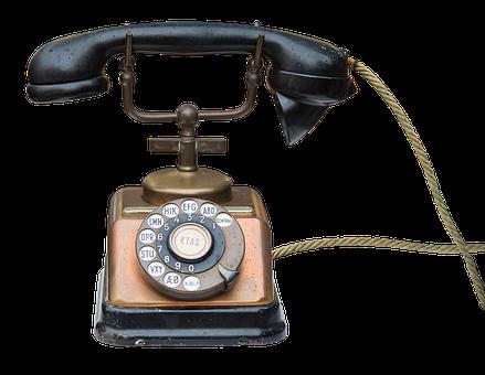 Phone, Communication, Call, Telephone Handset, Black