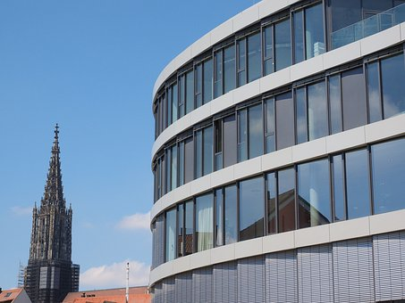 Ulm Cathedral, Building, Glass House, Architecture