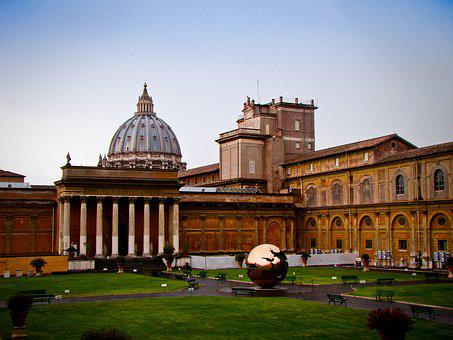 Rome, Vatican, Museum, Dome, Building, Culture, Church