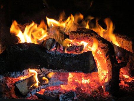 Fire, Fireplace, Wood, Burn, Flame, Blaze, Cozy