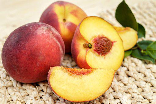 Peach, Fruit, Red, Ripe, Delicious, Sweet, Frisch