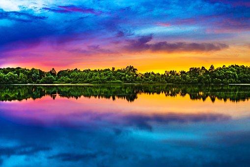 Sunset, Color, Evening Sky, Evening, Abendstimmung