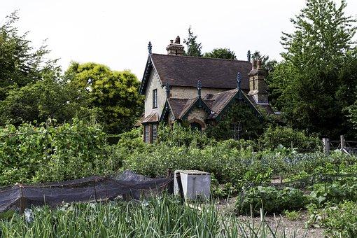 Edwardian Cottage, Traditional Vegetable Garden