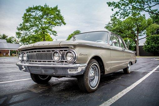 Mercury, Comet, Automobile, Car, Classic, Antique