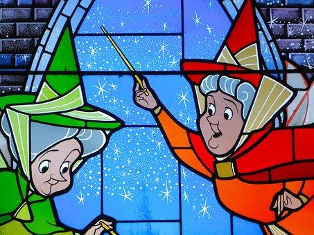 Fairy Tale, Disneyland, Disney, Paris, Godmother, Fairy