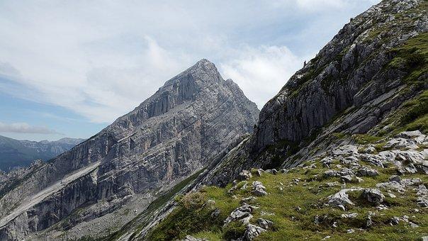 Kleiner Watzmann, Summit, Watzmannfrau, Watzfrau