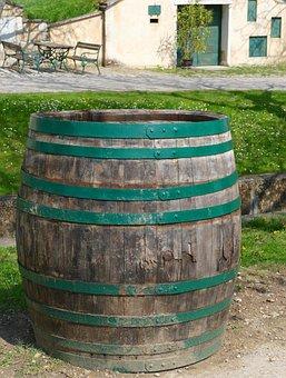 Wine Barrel, Barrel, Burgenland, Wine Barrels, Barrels