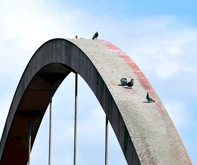 Bridge, Arch, Architecture, Building, Structural